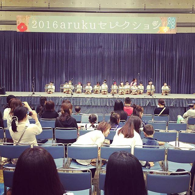 ステージで子どもが目隠ししながらピアニカ吹いてる!まるで天才だ。 #ビッグパレットふくしま #ヒューマニティー幼保学園 #ヨコミネ式 #郡山市 #koriyama #メロディオン #ピアニカ #aruku #2016arukuセレクション
