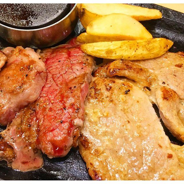 ステーキガストならステーキ、お肉、お腹いっぱい食べられる!開成山公園向かいにあるよ。#ステーキ #肉 #肉が食べたい #お腹いっぱい #ステーキガスト #開成山公園 #お腹空いた #サラダバイキング付きだから更にガッツリ  #ダイエットは明日から #安い #今日は食べるぞ #郡山市 #郡山 #桑野