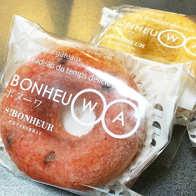 エスボヌールのドーナツはしっとり美味しいね!人気ナンバー1のバニラがいいね。#エスボヌール #ケーキ #郡山ケーキ #ドーナツ #しっとり #人気 #郡山 #郡山市 #バースデーケーキ #デコレーションケーキ #プリントケーキ #おいしい #八山田 #富田