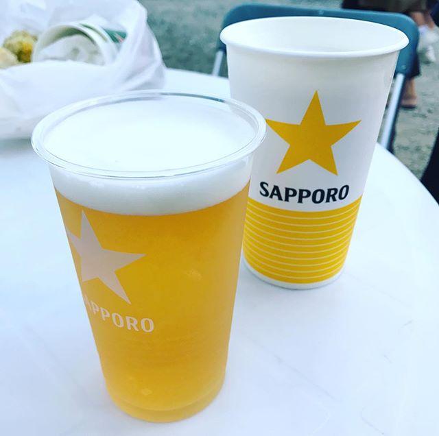 ビール祭り!開成山でサッポロビールの限定エーデルピルス! #ビール祭り #ビール #開成山 #サッポロ #黒ラベル #アサヒ #ハイネケン #500本限定 #郡山 #郡山市 #エーデルピルス #お祭り #祭り #夏祭り #お酒 #サッポロビール #開成山公園 #おいしい